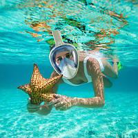 Полнолицевая маска для плавания, снорклинга, дайвинга для ребенка и взрослого - как выбрать?