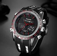 Мужские часы Readeel черные с красным, Чоловічий годинник, фото 1