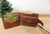 """Шкіряний гаманець """"Best"""" унісекс кожаный кошелек унисекс, бумажник ручної роботи, натуральна шкіра"""