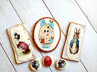 Пряник имбирно-медовый Пасха №15, фото 1