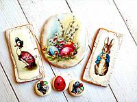 Пряник имбирно-медовый Пасха №14, фото 1