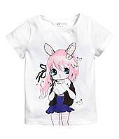Детская футболка для девочки 1,5-2 года, фото 1