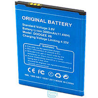 Аккумуляторная  батарея Dooge X5 Original 3000mAh