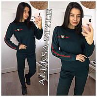 Женский стильный спортивный костюм (4 цвета) , фото 1
