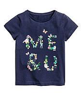 Дитяча футболка для дівчинки 1,5-2 роки, фото 1