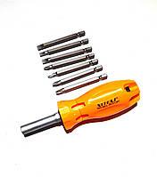 Викрутка зі змінними насадками Xiteli Tools 0821