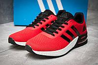 Кроссовки мужские Adidas  Galaxy, красные (12297),  [   44  ]