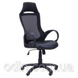 Кресло Viper черный, сиденье Неаполь N-20/спинка Сетка черная 261757
