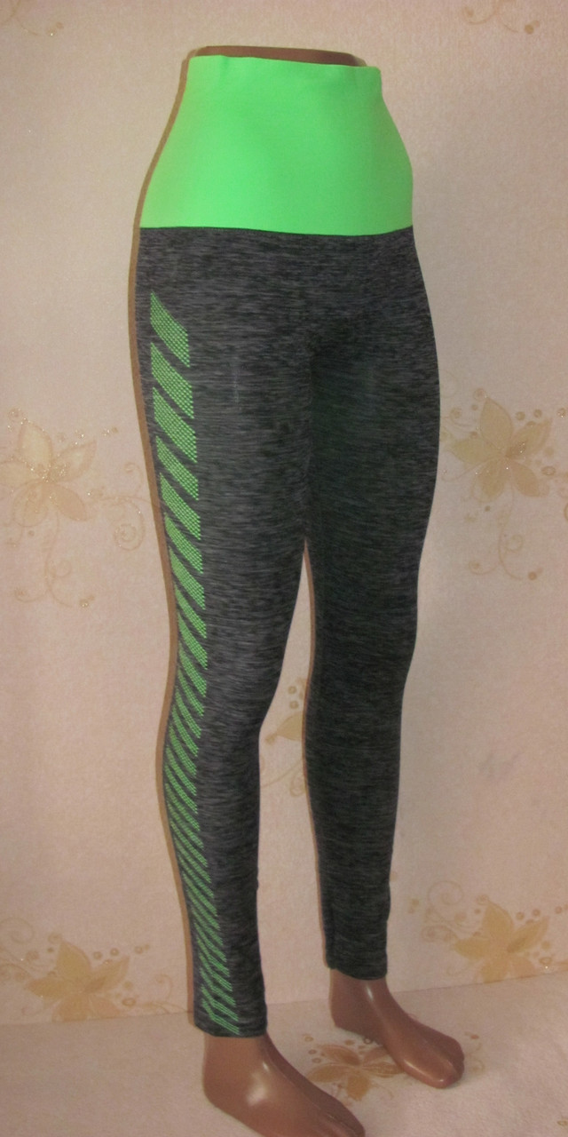 Лосины спортивные женские,  размер 42-50