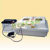Электронный Цифровой Инкубатор Квочка МИ-30-1Э-12 на 70 яиц с перекатом яиц