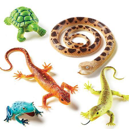 """Набір великих тварин """"Рептилії"""" від Learning Resources"""