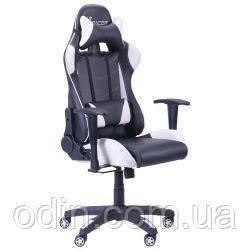 Кресло VR Racer BN-W0100 черный/белый 515280