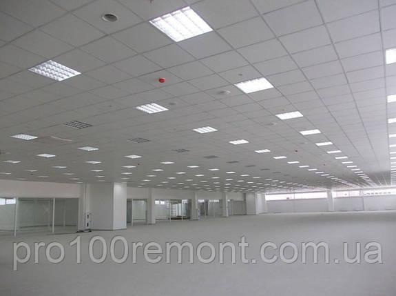 Подвесной потолок в сборе - система усиленная + плита Германия 13мм, фото 2