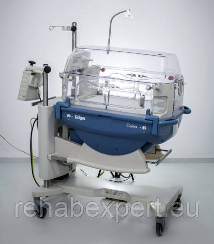 Неонатальный Инкубатор для интенсивной терапии для новорожденных Drager Caleo Инкубатор для новорожденных