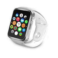 Умные часы Smart Watch GSM Camera A1 Silver