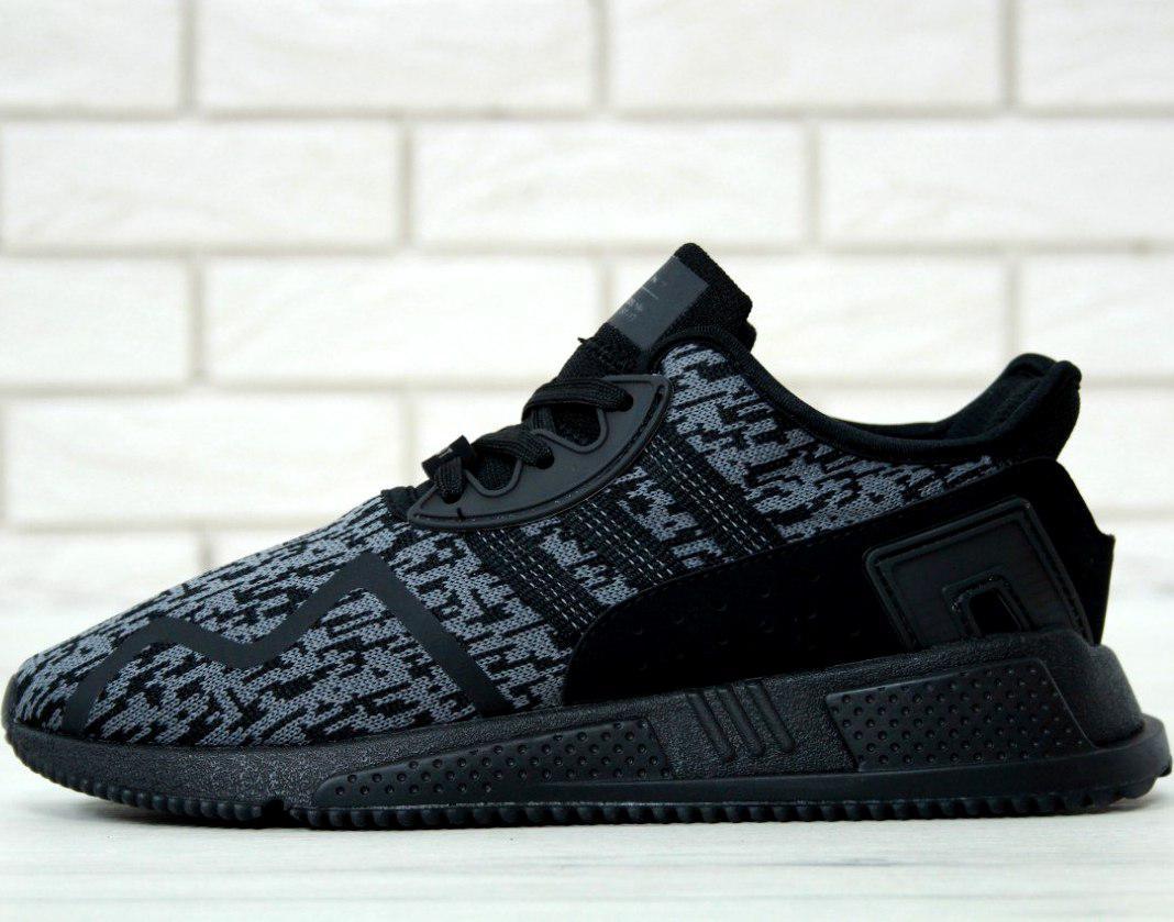 "Мужские кроссовки Adidas EQT Running Support ADV ""Black/Grey"""