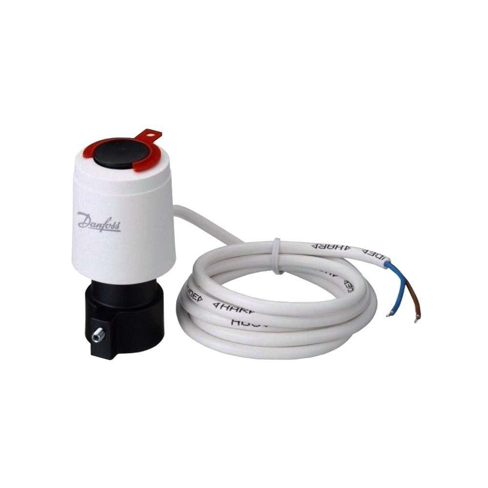 Термоэлектрический привод Danfoss 220В NO TWA-A 088H3113 на клапаны Danfoss RA