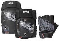 """POWERSLIDE Захист HOTWHEELS """"Skull"""", розмір S, колір-чорний / білий, 980116/3"""