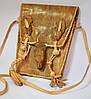 Кожаная сумка в подарок  из варана для женщин и девушек