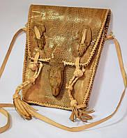 Кожаная сумка в подарок  из варана для женщин и девушек, фото 1