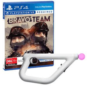 Sony PlayStation VR Aim Controller + игра Bravo Team