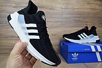 Мужские кроссовки в стиле Adidas ClimaCool ADV черные, фото 1