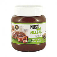 Nuss Milk шоколадний крем  зі смаком горіха 400 гр.