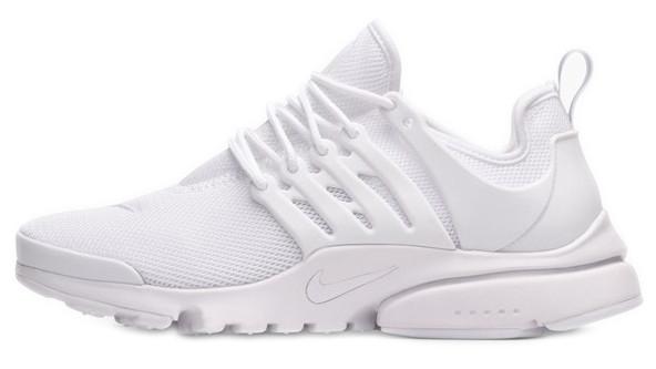 Женские кроссовки Nike Air Presto White (Найк Аир Престо) белые