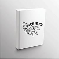 Надпись из термотрансферной пленки dreamer, цвет любой