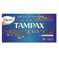 Tampax. Тампоны Tampax Super Plus Duo, 16 шт. (075110)