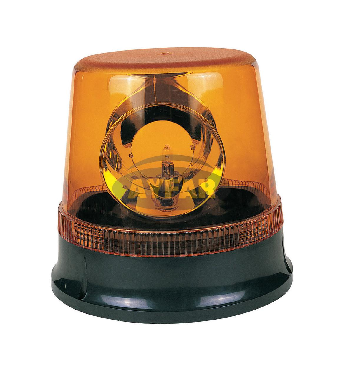 Мигалка желтая под лампочку 24 вольт TR504-3