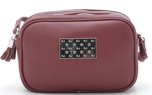 580c3b15ab65 Женский клатч David Jones CM3652A бордо Женские клатчи сумки через плечо,  женские клатчи