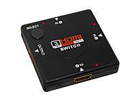 Switch разветвитель hdmi 3в1