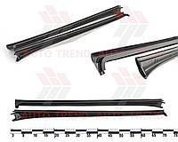 Уплотнитель лобового стекла ВАЗ 2110, 2170 боковые (к-т 2 шт.)