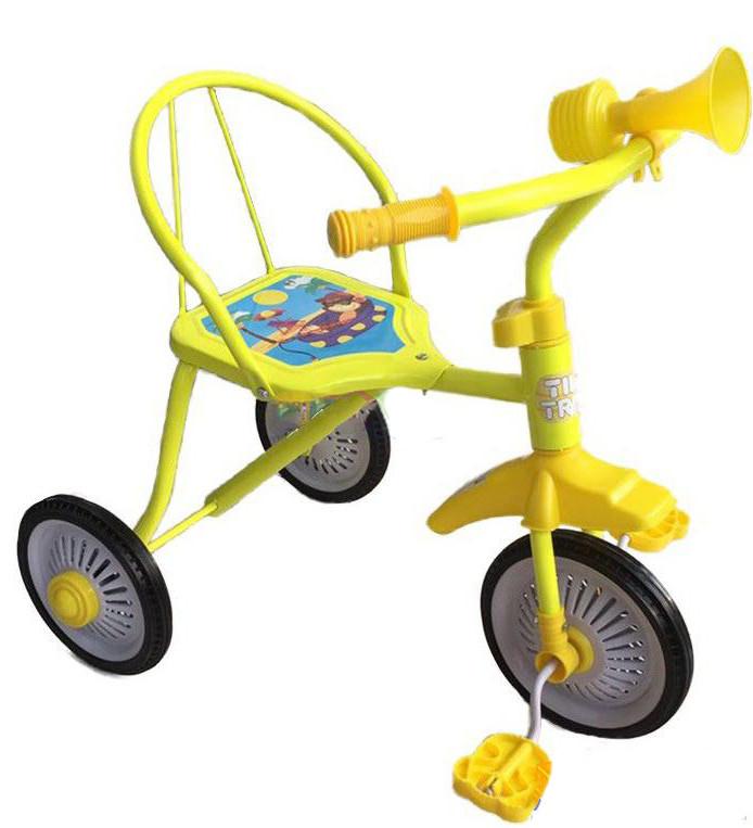 Трехколесный велосипед TILLY TRIKE желтый, T-311