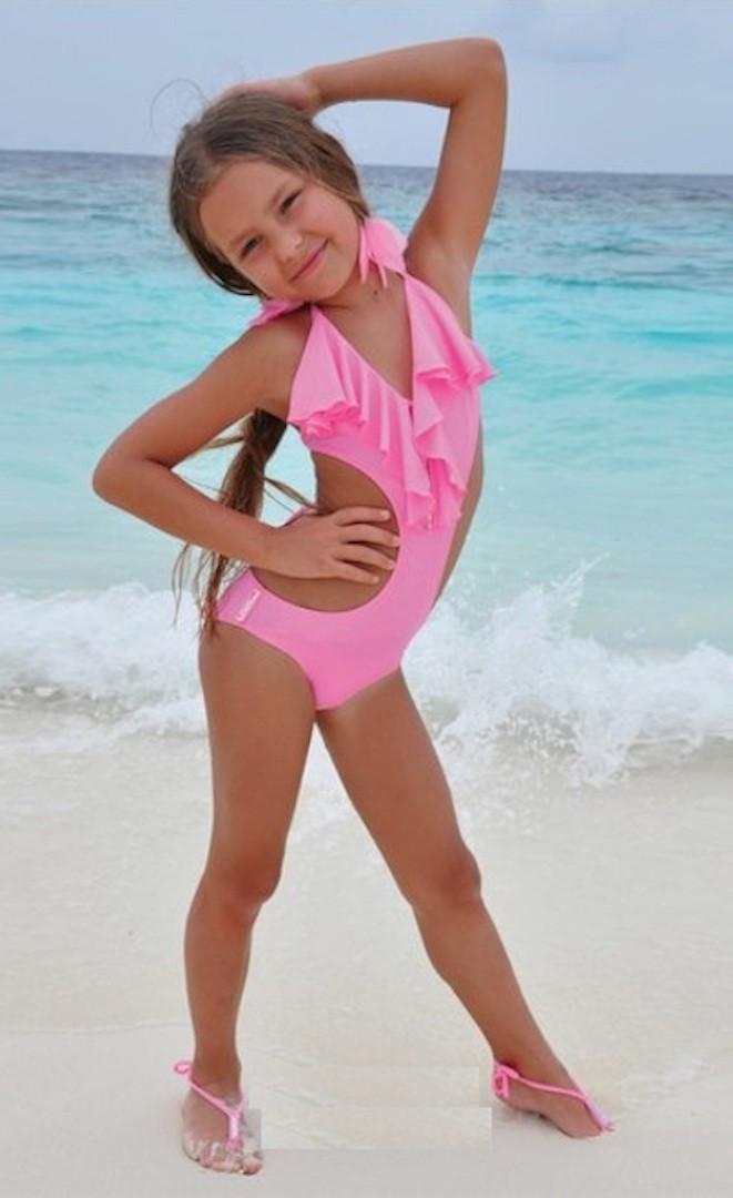 1f1d1f6defb5d Монокини для девочки BAEL Русалочка 5508 152 Розовый BAEL 5508 - Интернет  магазин купальников и пляжной