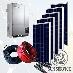 """Сонячна електростанція 20kW """"Зелений тариф"""", комплект економ"""
