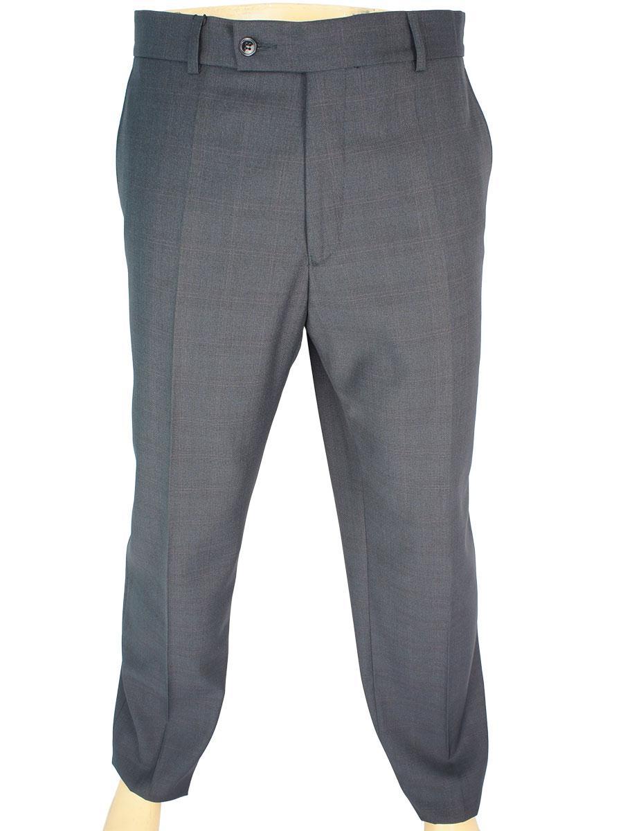 Класичні сірі чоловічі брюки Legenda Class 144 grey cell в клітку - Магазин  великих розмірів 5XL c3cb9693ed217