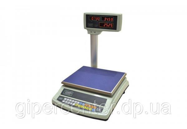Торговые электронные весы ВТЕ-15-Т2-СМ до 15 кг.