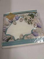 Пасхальная бумажная салфетка Luxy  Пасхальные подснежники 312