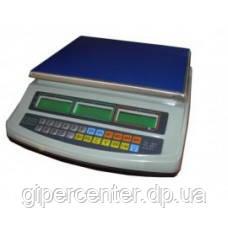 Торговые электронные весы ВТЕ-15-Т1-СМ до 15 кг.