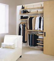 Гардеробы и шкафы в Киеве на заказ, гардеробные комнаты под заказ недорого