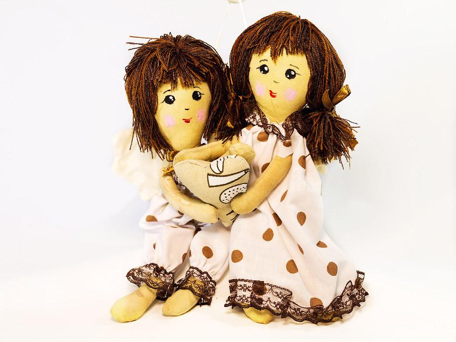 Куклы Vikamade Кофейные ангелочки - пара