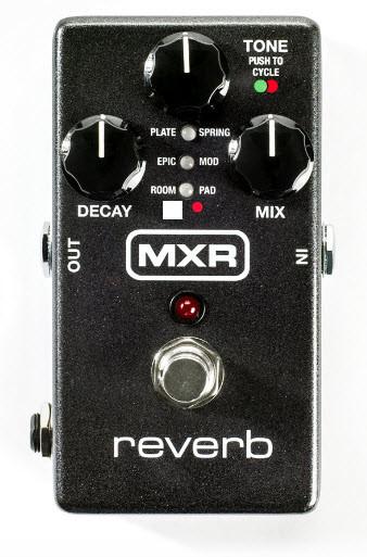 Підлоговий цифровий педаль ефектів для електрогітар DUNLOP M300 MXR REVERB