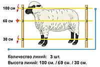 Электропастух для овец и коз 2J до 20км (Польша)
