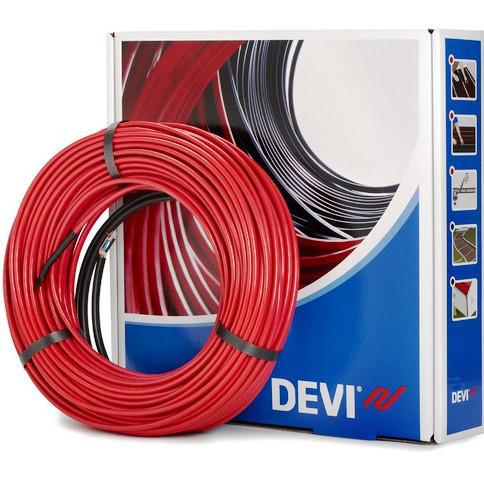 Теплый пол Devi двухжильный нагревательный кабель 18T (52,0 м)