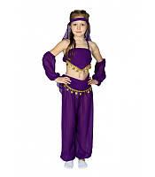 Карнавальный костюм ВОСТОЧНАЯ КРАСАВИЦА для девочки 4,5,6,7,8,9 лет детский восточный костюм для танцев