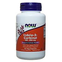 Индол-3-Карбинол онкопротектор, Now Foods, 200 мг, 60 капсул, фото 1