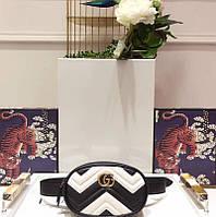 Кожаная сумка на пояс Gucci, фото 1