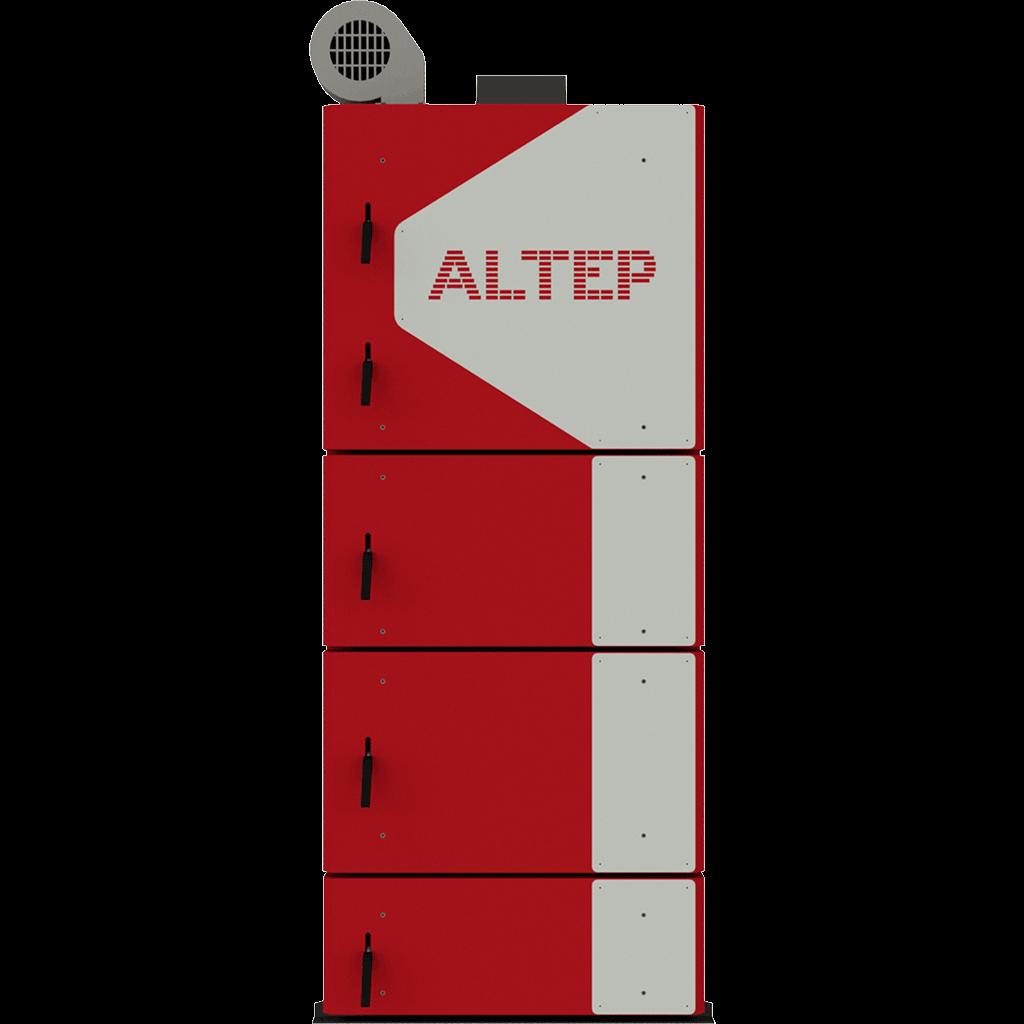 Стальной  котел на твердом топливе длительного горения Altep (Альтеп) DUO UNI PLUS (КТ-2ЕN) 62
